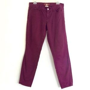 lucky brand Magenta Charlie Skinny Jeans Size 6/28